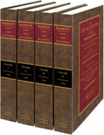 A New Law Dictionary : Comprehending A General Abridgement of the Law, on a More Extensive Plan Than has Hitherto Been Attempted: Containing Not Only the Explanation of the - William Marriott