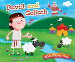 David and Goliath : Bible Rhyme Time - Inc Barbour Publishing