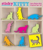 Sticky Kitty : A Miniature World of Cute Paper Cats - Killigraph
