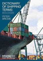 Dictionary of Shipping Terms : Tackling New Security Challenges in Europe - Peter Brodie