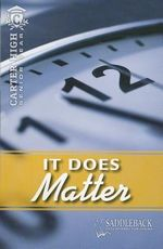 It Does Matter : Carter High: Senior Year - Eleanor Robins