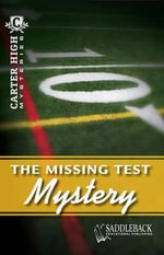 The Missing Test Mystery : Carter High Mysteries (Paperback) - Eleanor Robins