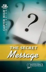 The Secret Message : Carter High Mysteries (Paperback) - Eleanor Robins
