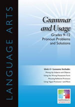 Pronoun Problems and Solutions, Grades 9-12 : Easy-To-Use Interactive Smart Board Lessons (Language Arts) - Saddleback Educational Publishing