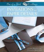Invitations and Paper Details - Laura Maffeo