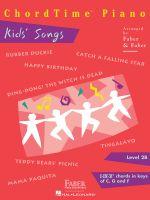 Chordtime Piano Kids' Songs, Level 2B : I-IV-V7 Chords in Keys of C, G and F - Nancy Faber