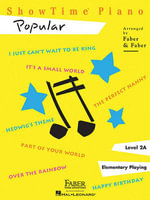 Showtime Piano : Popular - Nancy Faber