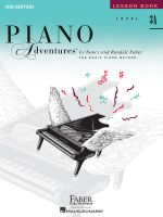 Piano Adventures, Level 3A, Lesson Book : Level 3A - Nancy Faber
