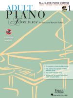 Adult Piano Adventures All-In-One Lesson Book 1 : A Comprehensive Piano Course - Nancy Faber