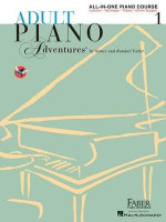 Faber Adult Piano Adventures All-in-One Lesson Book 1 Pf Bk : A Comprehensive Piano Course - Nancy Faber