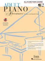 Adult Piano Adventures All-In-One Lesson Book 2 - Nancy Faber