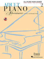 Adult Piano Adventures All-In-One Lesson Book 2 : A Comprehensive Piano Course - Nancy Faber
