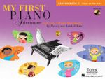 Faber Nancy & Randall My First Piano Adventure Lesson Book C Pf Bk/CD : For the Young Beginner - Nancy Faber