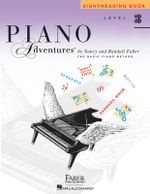 Level 3B : Sightreading Book - Piano Adventures - Nancy Faber