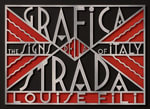 Grafica Della Strada : The Signs of Italy - Louise Fili