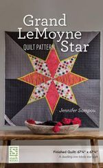 Grand LeMoyne Star Quilt Pattern - Jennifer Sampou