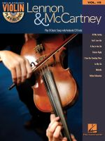 Violin Play-Along: Volume 19 : Lennon & McCartney