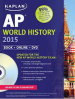 Kaplan AP World History : Book + Online + DVD - Jennifer Laden