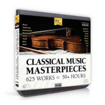 Classical Music Masterpieces : 625 Compositions on 64 Audio CDs - Topics Entertainment