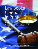 Law Books & Serials in Print 2015
