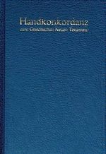 Pocket Concordance to the Greek New Testament - Alfred Schmoller
