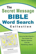 Secret Message Bible Word Search Collection - Barbour Publishing Inc