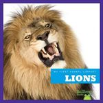 Lions : My First Animal Library - Mary Lindeen