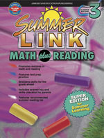 Math plus Reading, Grades 2 - 3 : Super Edition for Summer Learning - American Education Publishing