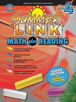 Math plus Reading, Grades 3 - 4 : Super Edition for Summer Learning - American Education Publishing