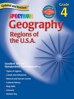 Geography, Grade 4 : Regions of the U.S.A. - Spectrum