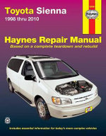 Toyota Sienna Automotive Repair Manual - Anon
