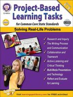 Project-Based Learning Tasks for Common Core State Standards, Grades 6 - 8 - Schyrlet Cameron