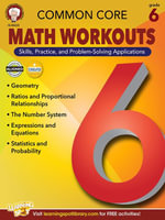 Common Core Math Workouts, Grade 6 - Karice Mace