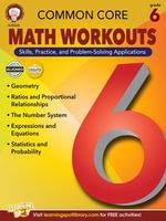 Common Core Math Workouts, Grade 6 - Karice Mace