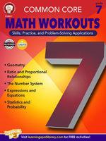 Common Core Math Workouts, Grade 7 - Karice Mace