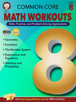 Common Core Math Workouts, Grade 8 - Karice Mace