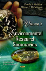 Environmental Research Summaries : v. 3 - Danila S. Melekhin