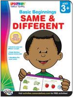 Same & Different, Grades Preschool - K - Spectrum