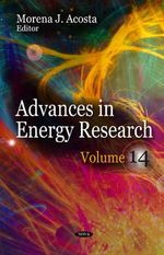 Advances in Energy Research: Volume 14 : Volume 14 - Morena J. Acosta