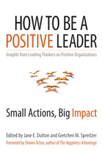 How to Be a Positive Leader : Small Actions, Big Impact - Jane E. Dutton