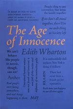 The Age of Innocence : Word Cloud Classics - Edith Wharton