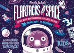 Uncle John's Flapjacks from Space: 36 Tear-Off Placemats for Kids Only! : Puzzles, Mazes, Brainteasers, Weird Facts, Jokes, and More! - Patrick Merrell