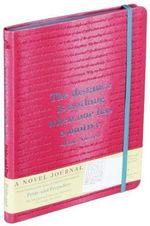 A Novel Journal : Pride and Prejudice - Jane Austen