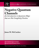 Negative Quantum Channels : An Introduction to Quantum Maps that are Not Completely Positive - James M. McCracken