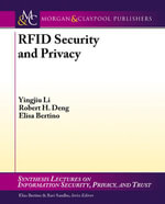 Rfid Security and Privacy - Yingjiu Li