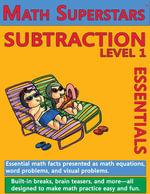 Math Superstars Subtraction Level 1 : Multi-Touch Edition - William Robert Stanek