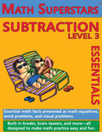 Math Superstars Subtraction Level 3 : Multi-Touch Edition - William Robert Stanek