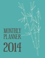Monthly Planner 2014 - Senior Lecturer in Law Colin Scott
