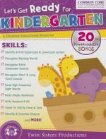 Let's Get Ready for Kindergarten Christian Bind-Up Workbook - Twin Sisters Productions