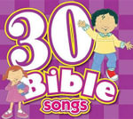 30 Bible Songs CD : Kids Can Worship Too! Music - Twin Sisters Productions